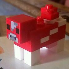 LEGO 21116 Minecraft Crafting Box MOOSHROOM RED COW Minifigure Fig Mushroom