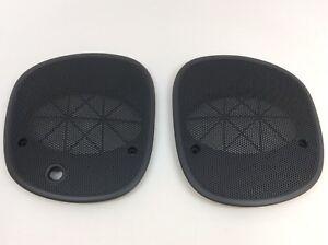98-05 Chevrolet S-10 Blazer Left & Right Upper Dash Speaker Cover Grilles OEM