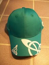 Bliss of London saddles baseball hat teal strap back adjustable baseball cap