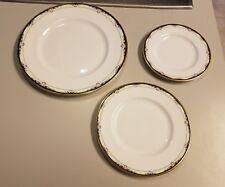 Royal Doulton RHODES Bone China England Shells Dinner/Salad/Bread Plates