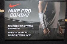 nike pro combat hypercool vapor shiver forearm sleeve men women adult osfm black