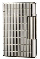 Tsubota Pearl Premium #180 Silver Diamond    Cut Flint Lighter Seki Japan DuPont