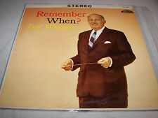 TED WEEMS REMEMBER WHEN? LP EX Strand SLS1045 1962