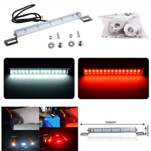 12V Car Back Rear Stop LED Backup Reverse Brake Lamp Waterproof Aluminum Light
