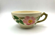 VINTAGE DESERT ROSE BY FRANCISCAN POTTERY USA FLAT CUP (TEACUP) 2-1/4""