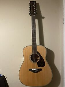 Yamaha 12 String Acoustic Guitar FG720S-12