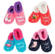 ;/@Snoozies washable cosy foot coverings Style Creature Comforts Col Various New