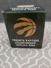 Toronto Raptors 2019 NBA Champions Replica Championship Ring One Size