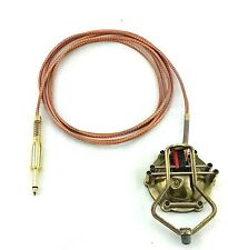 Custom Tattoo Small Foot Pedal Switch Antiqued Brass Copper One of a Kind Color