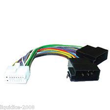 Ct21cl02 Clarion 16 PIN-ISO sostituzione Testa Unità Stereo Cavo di alimentazione di cablaggio