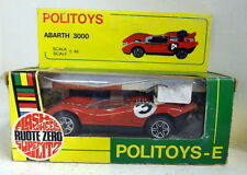 Politoys 1/43 Scale E594 Abarth 3000 red diecast model car