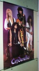 CINDERELLA 1988 Vintage Group Poster