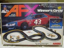 Vintage Aurora AFX Winner's Circle HO Scale Race Set