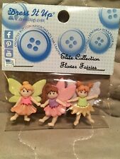 Flower Fairy Buttons By Dress It Up