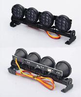 Multi-Function LED Spotlight 5 Modes Light Bar Round for 1/10 1/8 RC Model Car