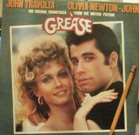 GREASE - Original Soundtrack ~ GATEFOLD 2 x VINYL LP