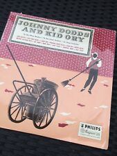 Johnny Dodds & Kid Ory Philips LP BBL 7136 New Orleans Jazz 1958 EX/VG+