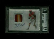 Jamaal Charles 2008 SP Authentic PRIME PATCH Auto Rookie #/999! BGS 8.5! Chiefs!