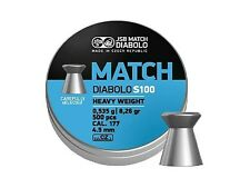 JSB MATCH DIABOLO S100 4.52 mm .177 500 pcs. heavy Air rifle Pellets AIR GUN