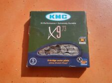 CADENA KMC  X9  - 116 LINKS (9 VELOCIDADES)