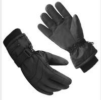 Damen Herren Ski Snowboard Handschuhe winddicht wasserabweisend L XL Gloves PD