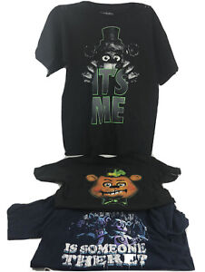 Lot Of 3 Five Nights At Freddy's Youth T Shirts Size XL short sleeve