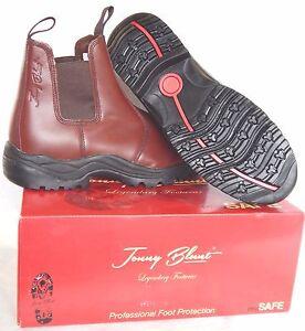 "Jonny Blunt ""MACK"" Antrim Safety Boot (Smooth Brown)"