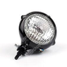 High Low Beam LED Phare Headlight Lamp Pour Harley Cafe Racer Bobber Custom Moto