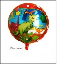 """helium balloon 18"""" dinosaurs round foil  birthday all occasions,party,kids"""