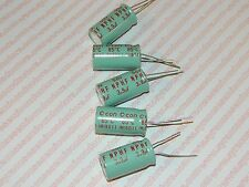 3.9uf 50 Volt Radial Non Polar High Frequency Capacitor Lot of 5 Pieces