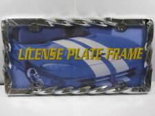 TWISTED METAL LICENSE PLATE FRAME CHROME CAR TRUCK L436