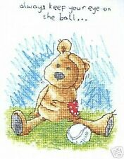 Newtons Law 'Keep Your Eye On The Ball' Cross Stitch Kt