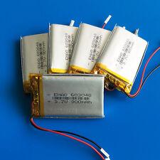 5pcs 3.7V 900mAh 603048 Lipo Battery for MP3 DVD GPS Camera Recorder PAD Speaker
