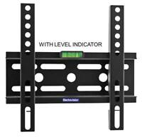 Universal 24-65'' Fixed Flatscreen TV Spirit Level Wall Mount Mounting Bracket