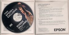 Robbie Williams  Image CD from 2001 - Exclusive Images from Epson (printers) UK