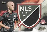 2015 Topps Major League Soccer Apex Crest Jumbo Relic Card Variations #'d /99 50