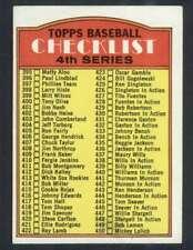 1972 Topps #378 Checklist 395-525 EXMT/EXMT+ 58851