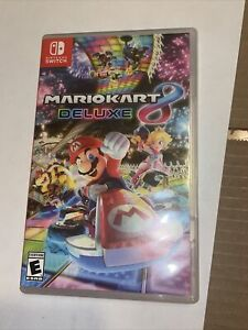 Mario Kart 8 Deluxe (Nintendo Switch, 2017) Case / Box Only -NO GAME-