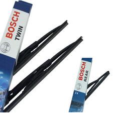 Bosch Scheibenwischer Vorne Hinten für PEUGEOT 206 SW T1|653 H351