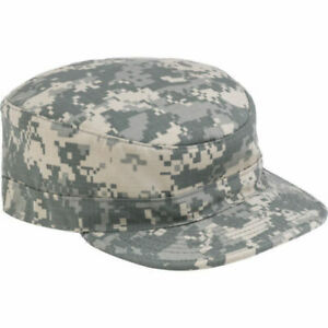 US Army Digital Camouflage ACU Genuine Military Issue GI Patrol Cap Hat PC New