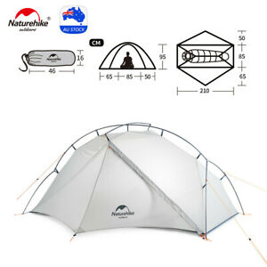 Naturehike Ultralight VIK Tent Backpacking Camping Tent Outdoor Hiking 1/2person