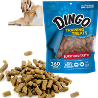 DOG CHEWS SOFT Training Treats Food Snack Real Beef & Chicken 360pc