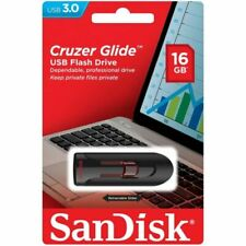 SanDisk® Cruzer Glide™ 16GB USB 3.0 Flash Drive High Speed Memory Stick Genuine