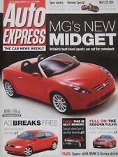 Auto Express magazine 15-21/1/2003 Issue 738