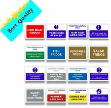 More details for food preparation catering health safety hygiene sign