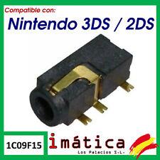 Connecteur de Audio Jack pour Nintendo 2DS/3DS Pièce Rechange Écouteurs
