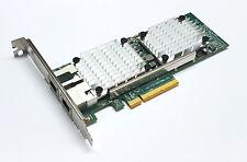 Qlogic QLE3442-RJ Dual Port 10GBe RJ45 10Gbase-T Ethernet 10Gbit Server NIC