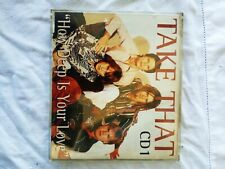 CD ORIGINALE - TAKE THAT - HOW DEEP IS YOUR LOVE CD1 - L6
