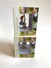 Zeit Fur Hummel Miniatures Apple Tree Girl & Boy Figures Unused Lot Of 2