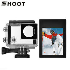 Lcd BacPac Display Viewer w' Bacpac Screen Case+Waterproof Case for GoPro 4/3+